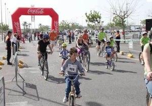 Familias en Bicicletta